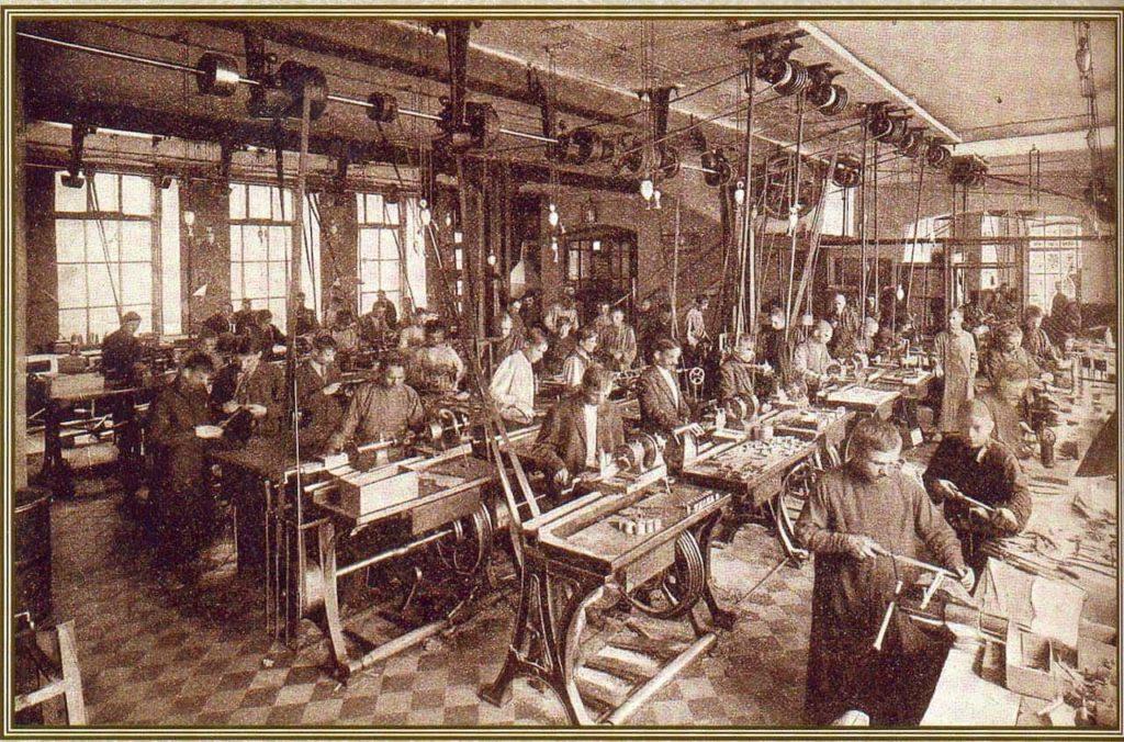 фабрика рабочих
