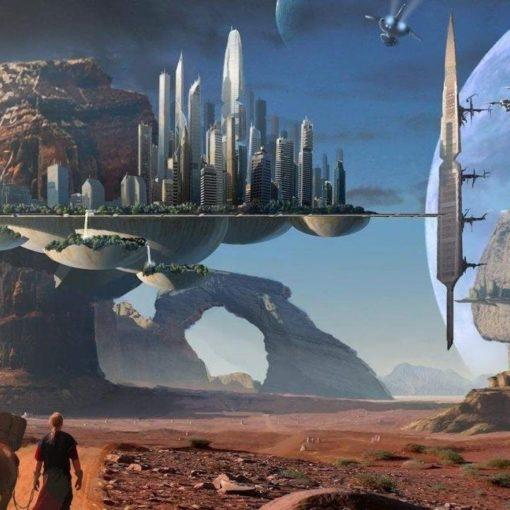 Фантастика оживает.  Elysium City - умный город нового поколения. 8