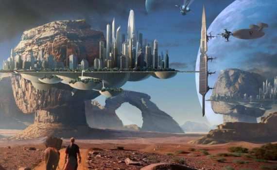 Фантастика оживает.  Elysium City - умный город нового поколения. 2