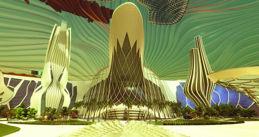 МАРСИАНСКИЙ НАУЧНЫЙ ГОРОД. В ОАЭ строят город для имитации жизни на Марсе. 3