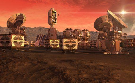 МАРСИАНСКИЙ НАУЧНЫЙ ГОРОД. В ОАЭ строят город для имитации жизни на Марсе. 6