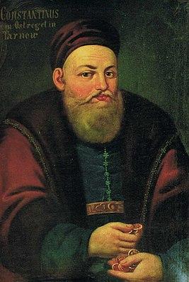 Князь Константин Василий Острожский