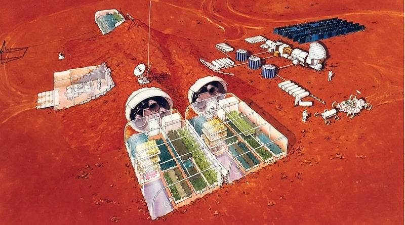 МАРСИАНСКИЙ НАУЧНЫЙ ГОРОД. В ОАЭ строят город для имитации жизни на Марсе. 2