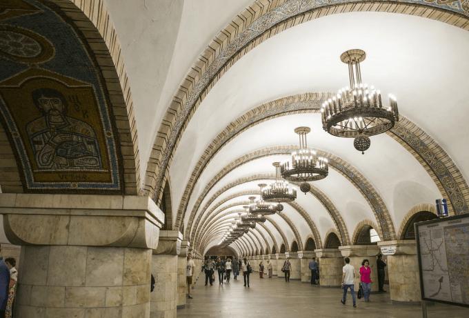 Единственные в своем роде станции Киевского метрополитена 3