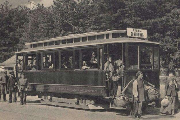13 июня 1892 года (127 лет назад) — в Киеве был пущен первый  электрический трамвай 2
