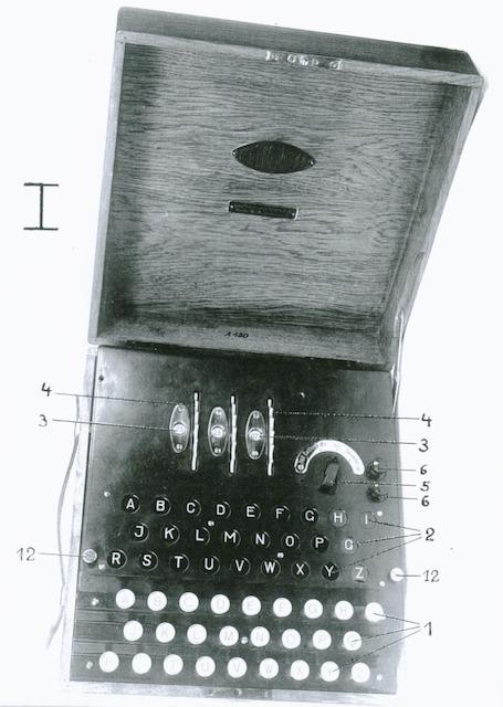 История загадочной и легендарной шифровальной Enigma 14