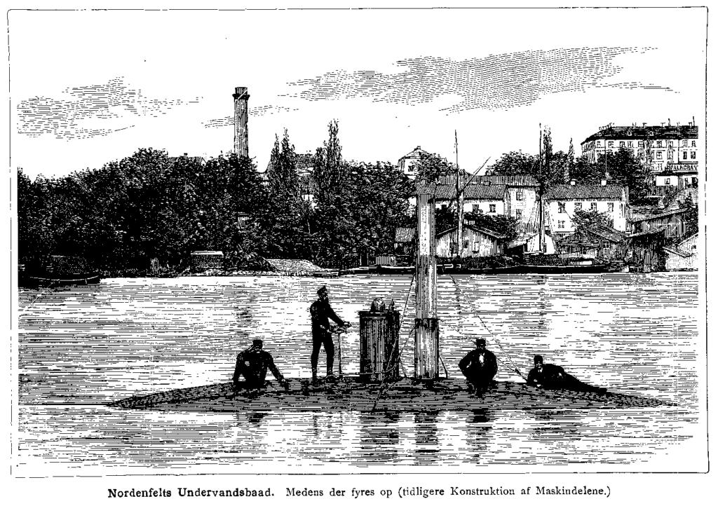 История создания подводной лодки 7