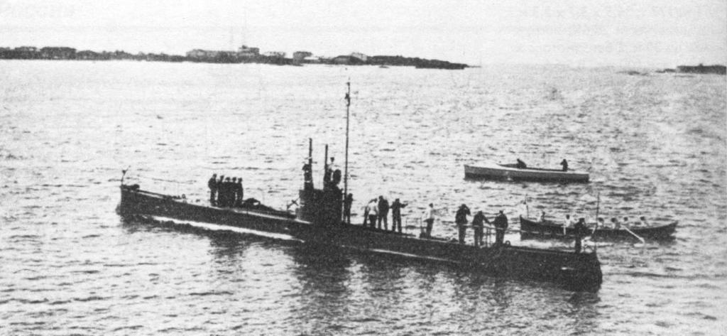 История создания подводной лодки 10