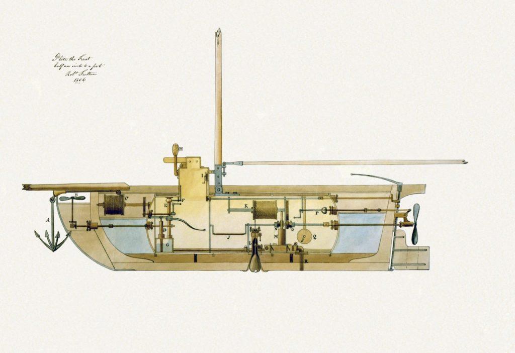 История создания подводной лодки 4