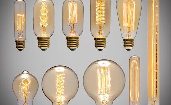 История развития ламп накаливания 10