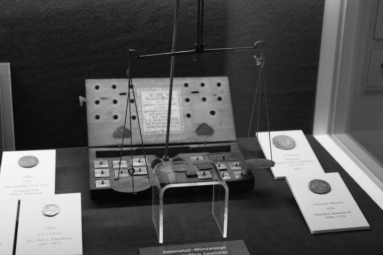 История денег. Музей денег в городе Хеппенхайм 1
