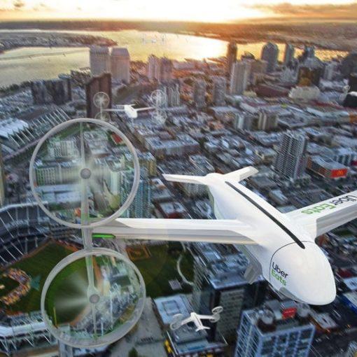 Летающие такси. Uber анонсировал запуск в Австралии. 7