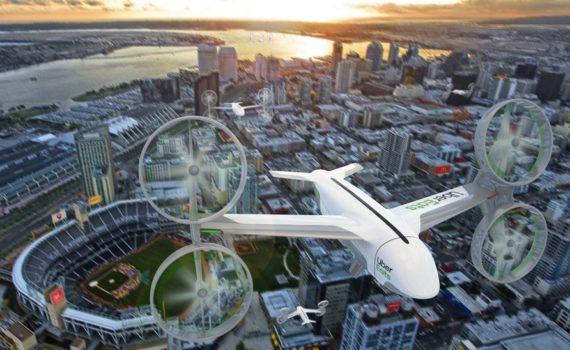 Летающие такси. Uber анонсировал запуск в Австралии. 12