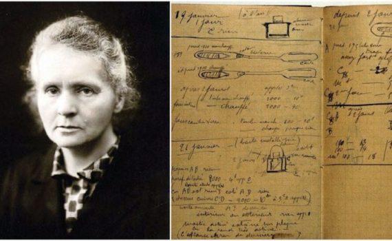 Исследовательские работы Марии Кюри остаются радиоактивными 100 с лишним лет спустя 4