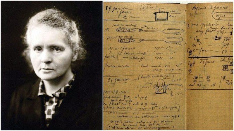 Исследовательские работы Марии Кюри остаются радиоактивными 100 с лишним лет спустя 1