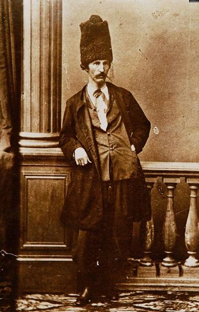 Создатель «кулишовки» — одной из ранних версий украинского алфавита. ПАНТЕЛЕЙМОН  КУЛИШ(1819-1897) 5