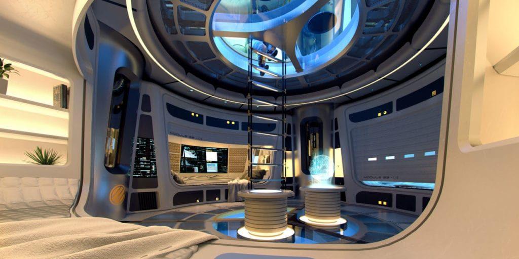 Инженеры и архитекторы проектируют лунные поселения 3