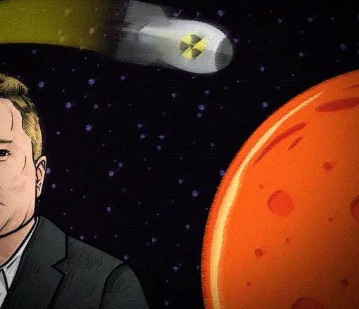 Не все поддерживают Илона Маска. Почему ученые отказываются атаковать Марс ядерными бомбами? 2