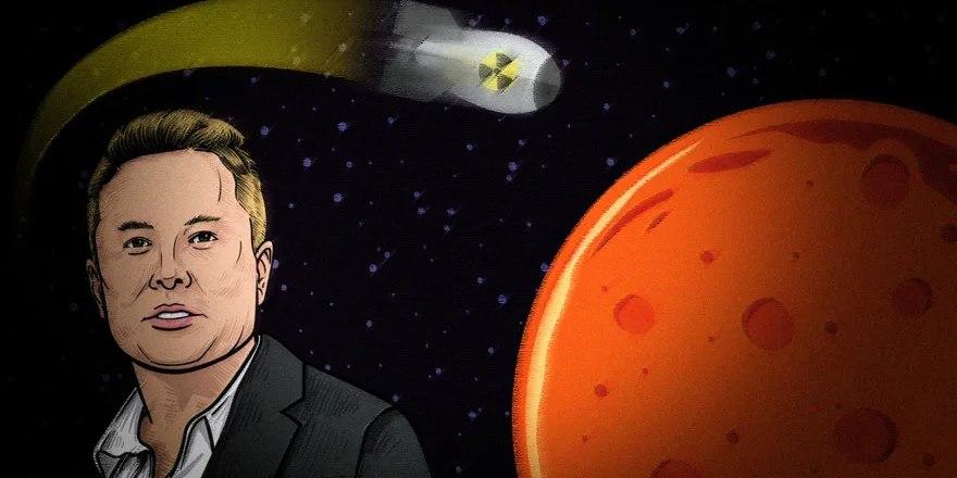 Не все поддерживают Илона Маска. Почему ученые отказываются атаковать Марс ядерными бомбами? 1