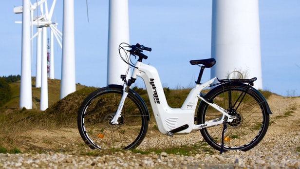 Водородный велосипед? Французы его оказывается создали 1