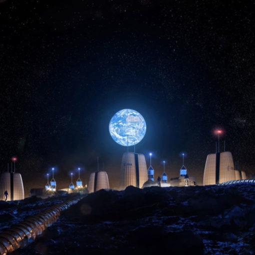 Инженеры и архитекторы проектируют лунные поселения 2