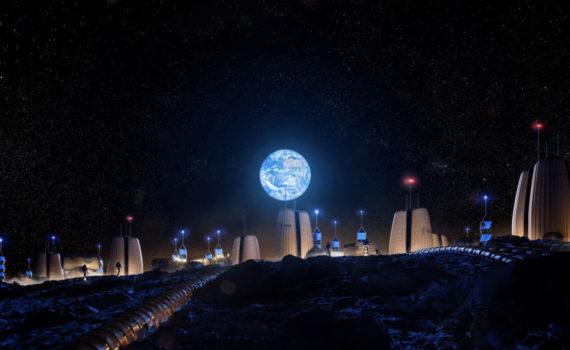 Инженеры и архитекторы проектируют лунные поселения 7