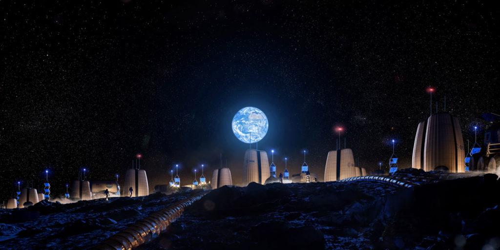 Инженеры и архитекторы проектируют лунные поселения 1