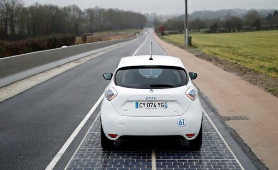 Первая в мире автодорога с покрытием из фотоэлементов признана «абсолютным провалом» 9
