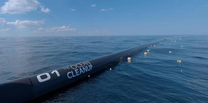 В США запустили Ocean Cleanup — систему очистки океана от пластика 1