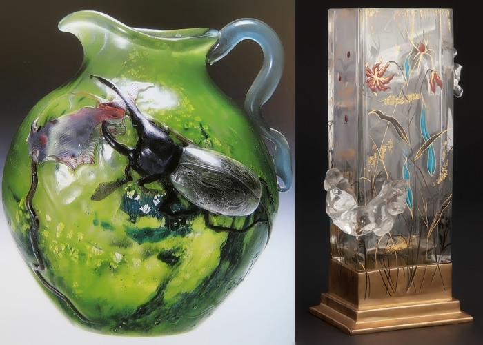 Эмиль Галле и природа, заточённая в стекло 4