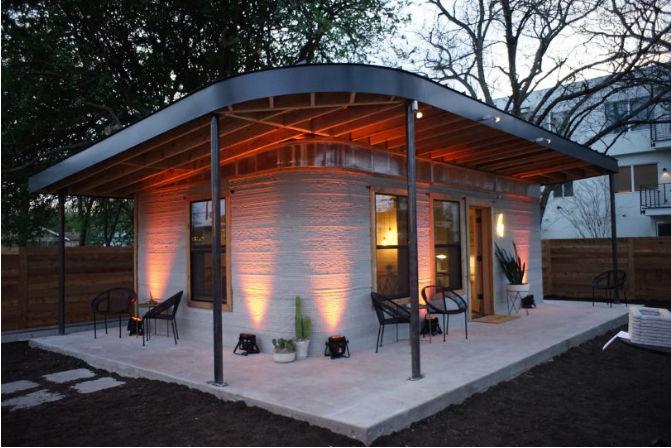 Технология 3D-печати жилых домов за 24 часа становится реальностью 4