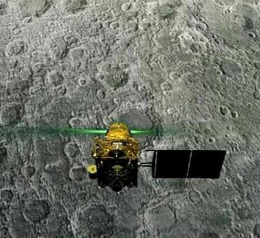 Индия потеряла связь со своим луноходом 4