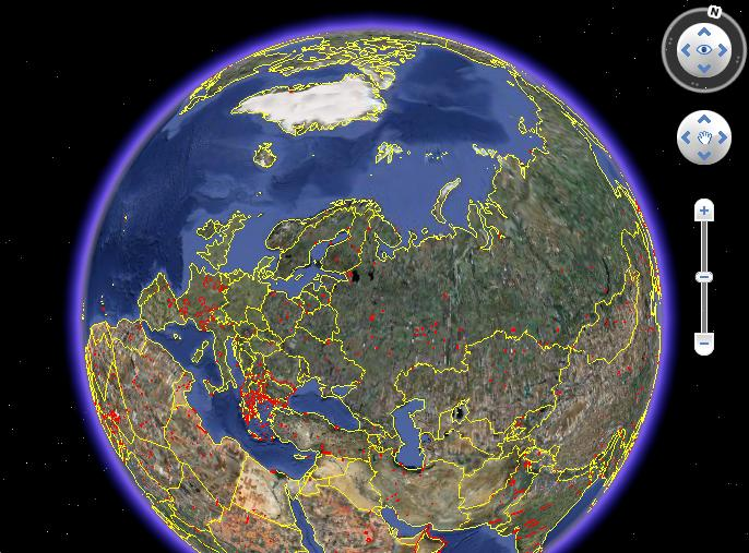 Google Earth превратили в синоптик прогноза погоды 4
