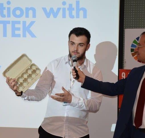 Инновационный проект экоресайклинга. Интервью с  украинским ученым. 13