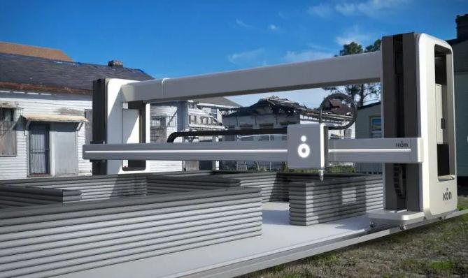 Технология 3D-печати жилых домов за 24 часа становится реальностью 1