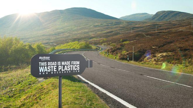 Шотландский стартап начал строительство пластиковых дорог 6