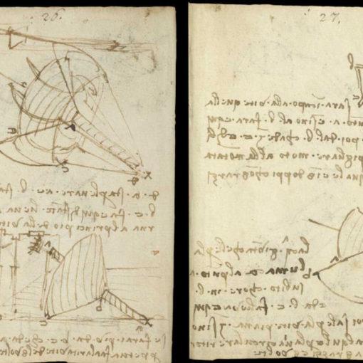 Научные книги Леонардо да Винчи выложили в открытый доступ 28