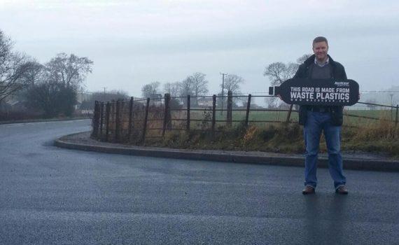 Шотландский стартап начал строительство пластиковых дорог 8