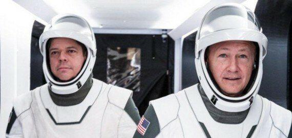 Кто полетит в первой пилотируемой миссии SpaceX? 4
