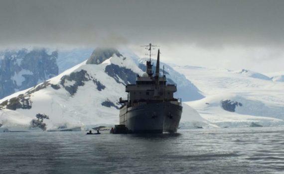 25-сезонная экспедиция. Ввдоль Антарктического полуострова 1